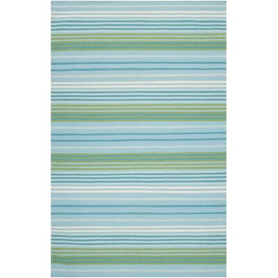 Surya Rug Happy Cottage Aqua / Turquoise Rug