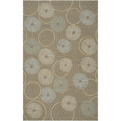 Surya Labrinth Pigeon Gray Outdoor Rug