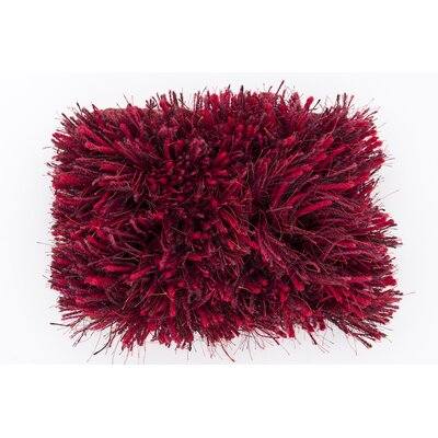 Surya Milan Red Burgundy Plum Rug
