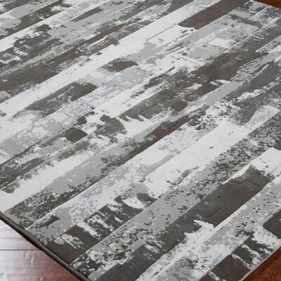 Surya Contempo Gray Stripes Rug