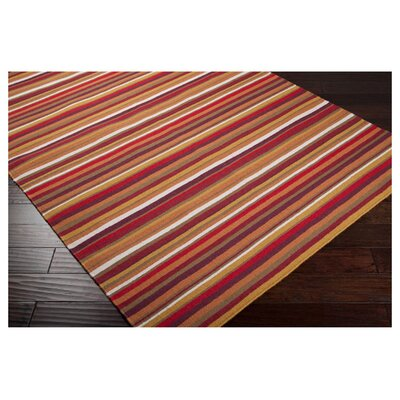 Surya Sag Harbor Red Multi Rug