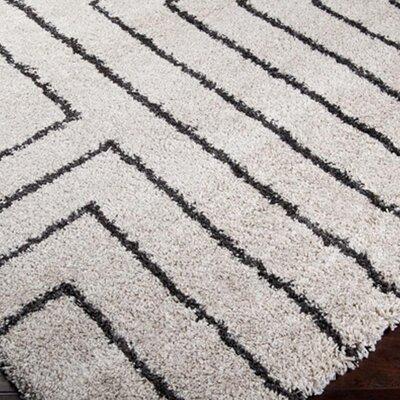 Surya Kodiak White Charcoal Rug