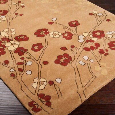 Surya Tamira Tan/Cream Rug