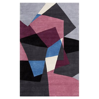 Surya Cosmopolitan Prune Purple/Charcoal Gray Rug