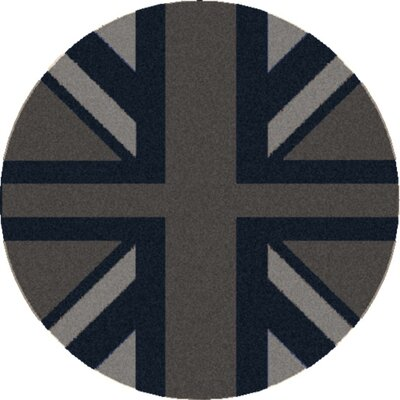Surya Cosmopolitan Flint Gray/Midnight Blue Rug