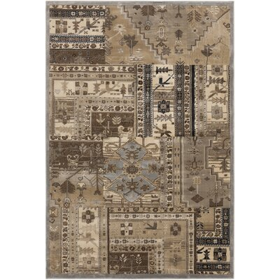 Surya Lenoir Brown/Mossy Gold Rug