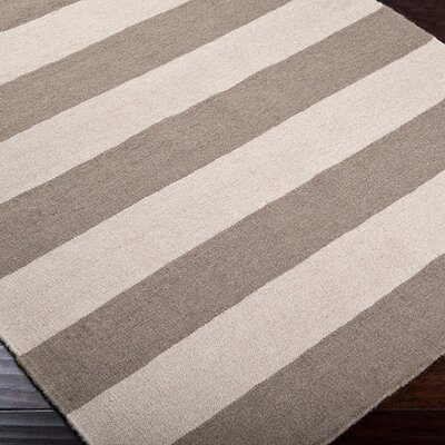 Surya Frontier Gray Striped Rug