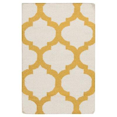 Surya Frontier White/Golden Yellow Rug