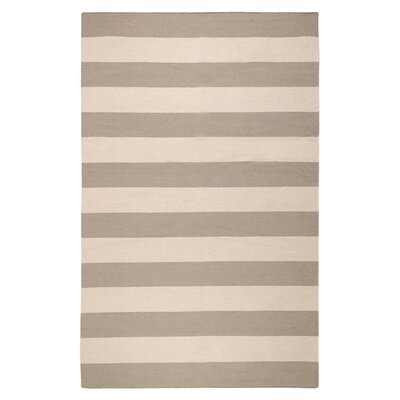 Frontier Gray Striped Rug