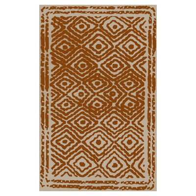 Atlas Burnt Orange Rug