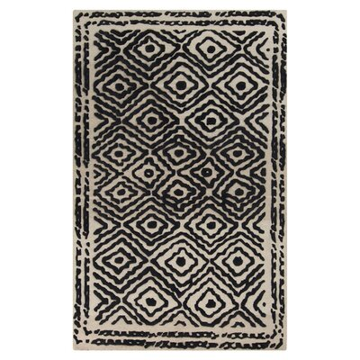 Surya Atlas Coal Black Rug