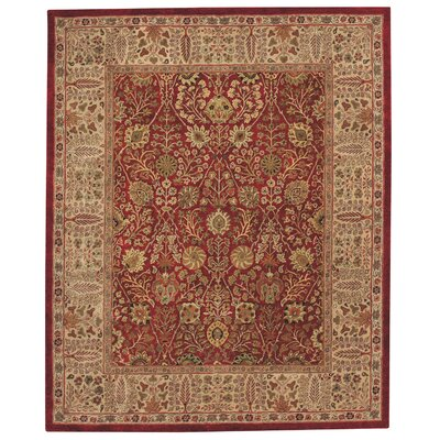 Capel Rugs Forest Park Persian Cedars Red Rug
