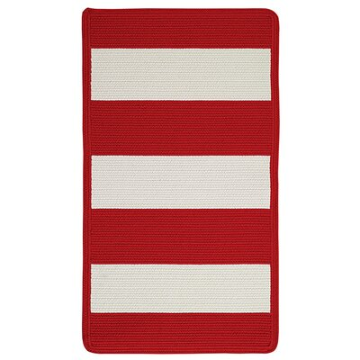 Capel Rugs Willoughby Red/White Rug