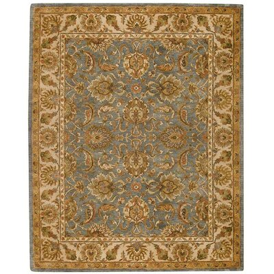 Capel Rugs Monticello Blue Slate/Cream Mahal Rug