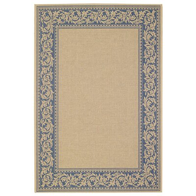 Elsinore Scroll Blue Indoor/Outdoor Rug