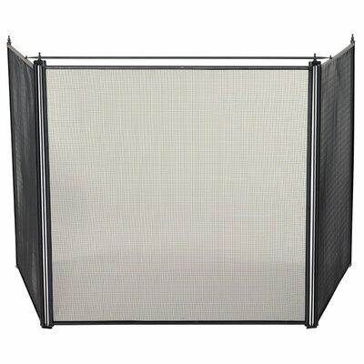 3 Panel Steel Stove Fireplace Screen