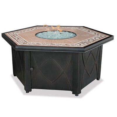 Uniflame Corporation LP Gas Fire Pit Table wi