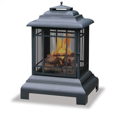 Uniflame Corporation Outdoor Pagoda Fireplace