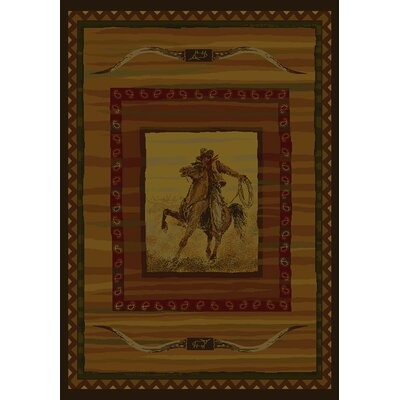 United Weavers of America Genesis Rawhide Lodge Novelty Rug