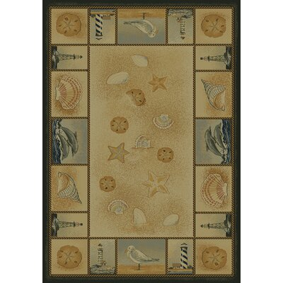 United Weavers of America Genesis Beachcomber Novelty Rug