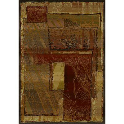 United Weavers of America Beau Monde Imagine Brown T-Multi Rug
