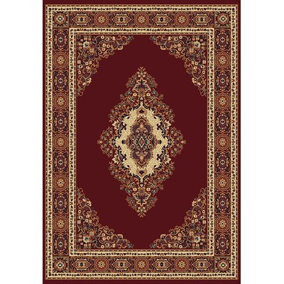 Manhattan Cathedral Burgundy Rug