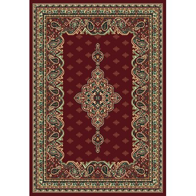 United Weavers of America Manhattan Queens Burgundy Rug