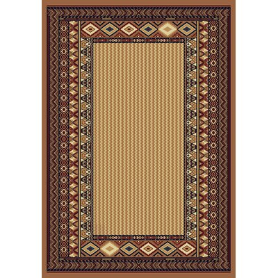 United Weavers of America Manhattan Montauk Beige/Red Rug