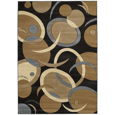 United Weavers of America Contours Tango Chocolate Rug