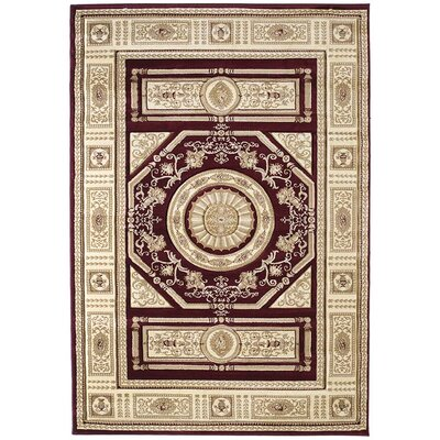 United Weavers of America Contours Camryn Burgundy Rug