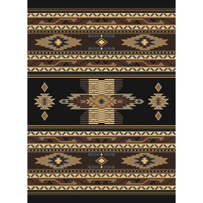 United Weavers of America Manhattan Phoenix Black Rug