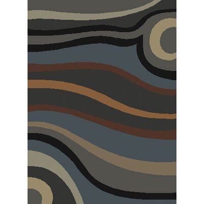 United Weavers of America Manhattan Pulse Grey/Blue Rug