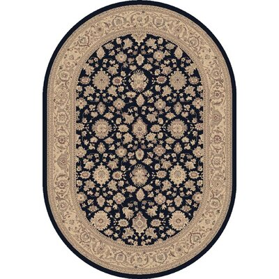 Dynamic Rugs Satin Grant Navy Rug