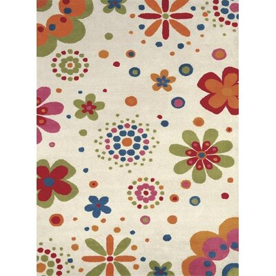 Dynamic Rugs Fantasia Fan Girls Bouquet Kids Rug