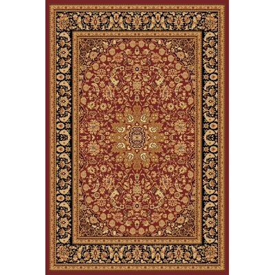 Dynamic Rugs Yazd Red Rug