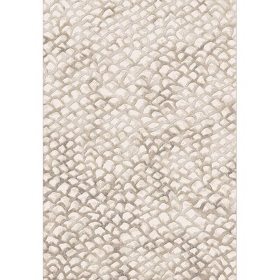 Dynamic Rugs Eclipse Ivory Block Rug
