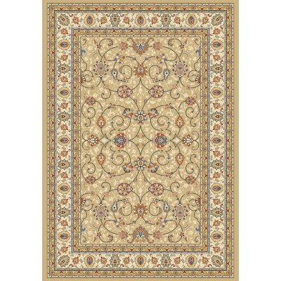 Dynamic Rugs Ancient Garden Light Gold/Ivory Rug
