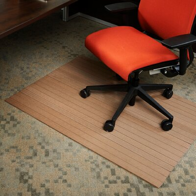 Anji Mountain Composite Hard Floor Straight Edge Chair Mat