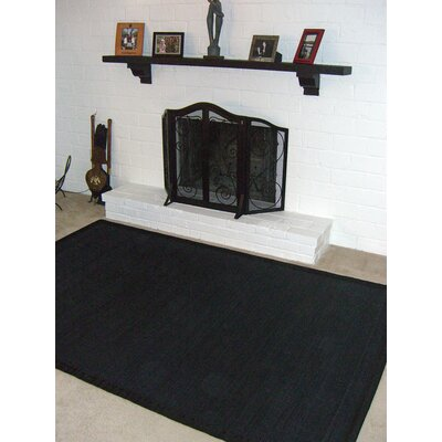 Anji Mountain Bamboo Rugs Villager Ebony Rug