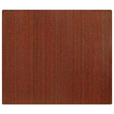 Anji Mountain Standard Bamboo Roll-Up Chairmat 5mm Rectangular