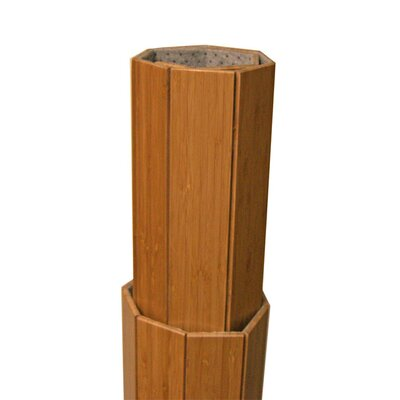 Anji Mountain Deluxe Bamboo Office Chairmat, Rectangular