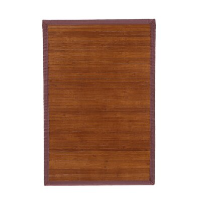 Bamboo Rugs Chocolate Rug