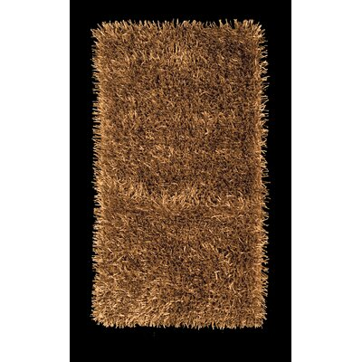 Foreign Accents Elementz Fettuccine Gold Rug