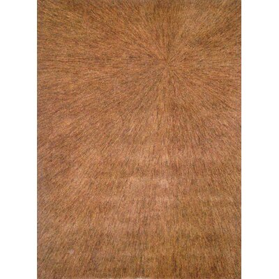 Foreign Accents Boardwalk Gold/Brown Sunburst Rug