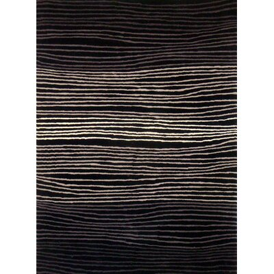 Foreign Accents Boardwalk Black/Grey Rug