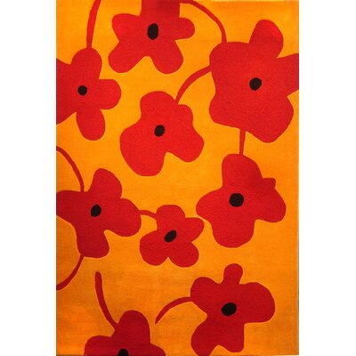 Foreign Accents Festival Pale Tangerine Rug