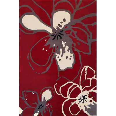 Foreign Accents Chelsea Red Rug