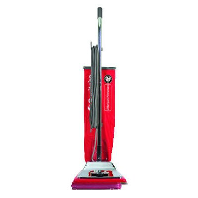 Heavy-Duty Commercial Upright Vacuum with Micron Filtration