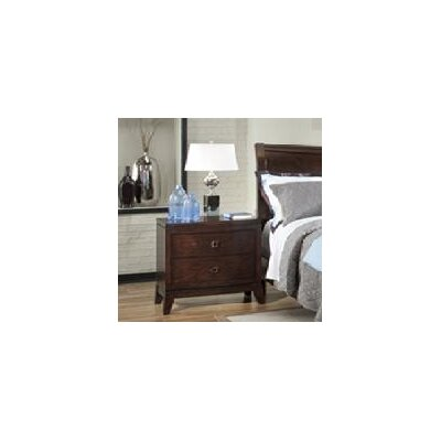 Alexandra 2 Drawer Nightstand