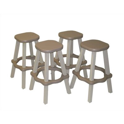 "Leisure Accents 26"" Patio Barstool (Set of 2)"